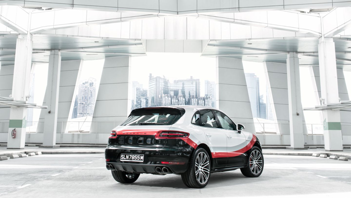 Macan Turbo mit Performance Paket, 2017, Porsche AG
