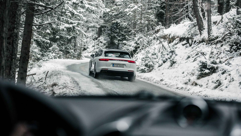 Panamera 4 E-Hybrid Sport Turismo, Roadtrip, Österreich, 2017, Porsche AG