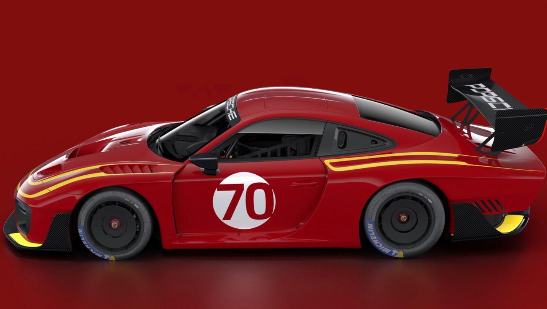 Porsche 935, livery MOMO, 2019, Porsche AG