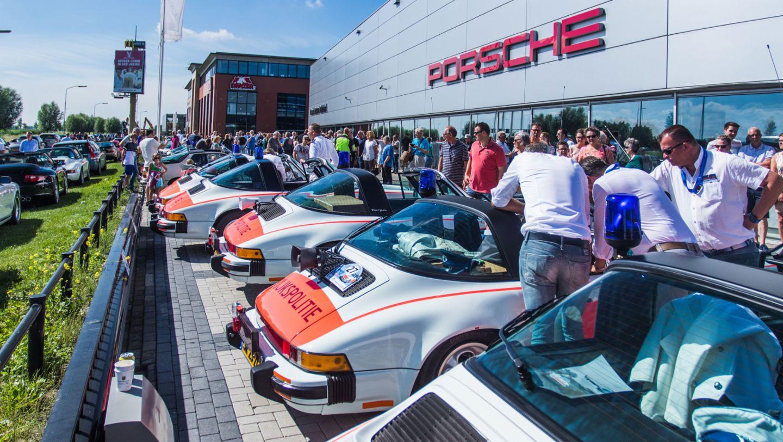 911 Targa, Rijkspolitie, police, Porsche Classic Center Gelderland, Netherlands, 2017, Porsche AG