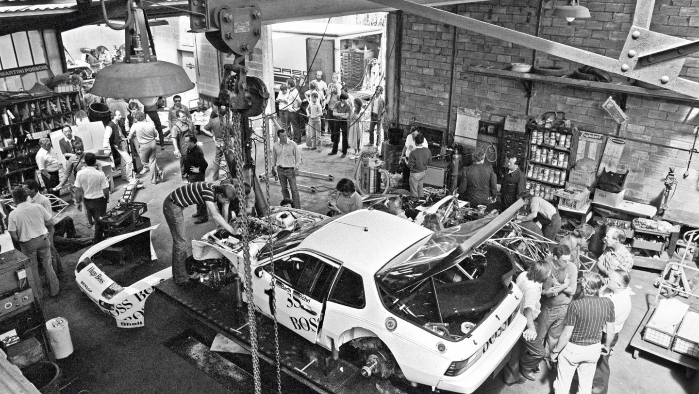 924 GTP, auto shop, Teloché, Le Mans, 1981, Porsche AG
