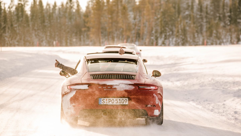 911 Carrera 4S, Porsche Driving Experience Levi, Finland, 2017, Porsche AG