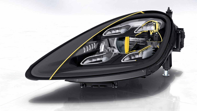 Cayenne, head-light, 2017, Porsche AG