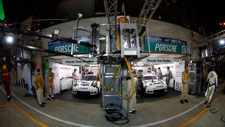 911 RSR (91), 911 RSR (92), Qualifying, Le Mans, 2015, Porsche AG