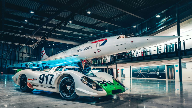 Porsche 917-001, Concorde 002, 2019, Porsche AG