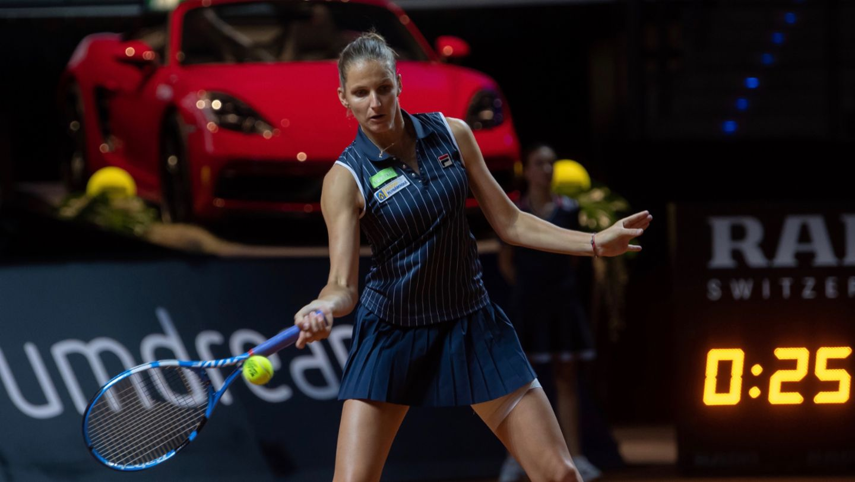 Karolina Pliskova, defending champion, 2019, Porsche AG