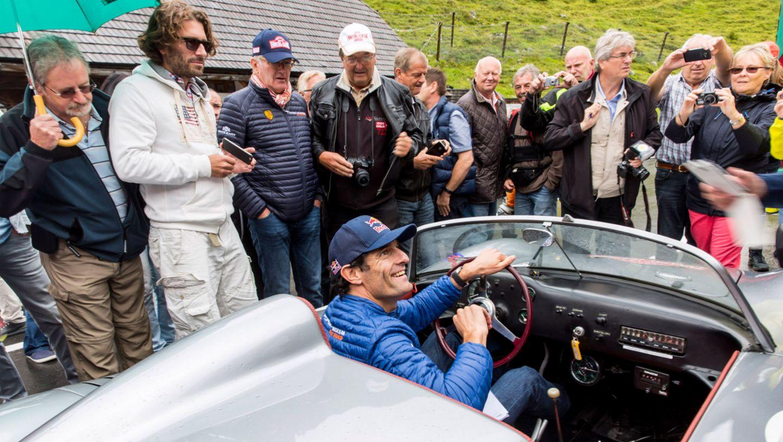RS 60 Spyder, Mark Webber, works driver, Ennstal-Classic, 2016, Porsche AG