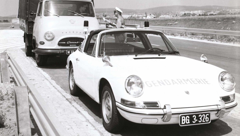 911 Targa, Polizeiauto, Österreich, Porsche AG