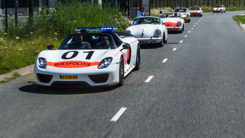 918 Spyder, Rijkspolitie, Polizei, Niederlande, 2017, Porsche AG