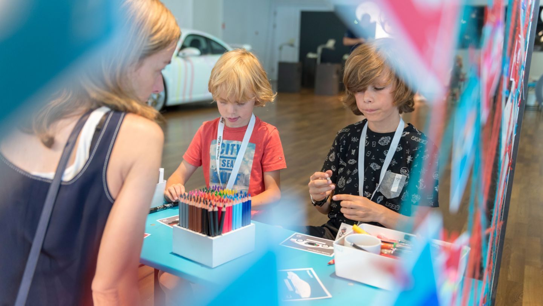 Kindersommerferienprogramm, Porsche Museum, 2018, Porsche AG