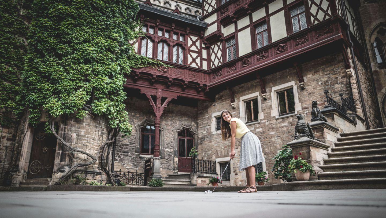 Katrin Tochtermann, #PorscheCrossdrive, Schloss Wernigerode, 2018, Porsche AG