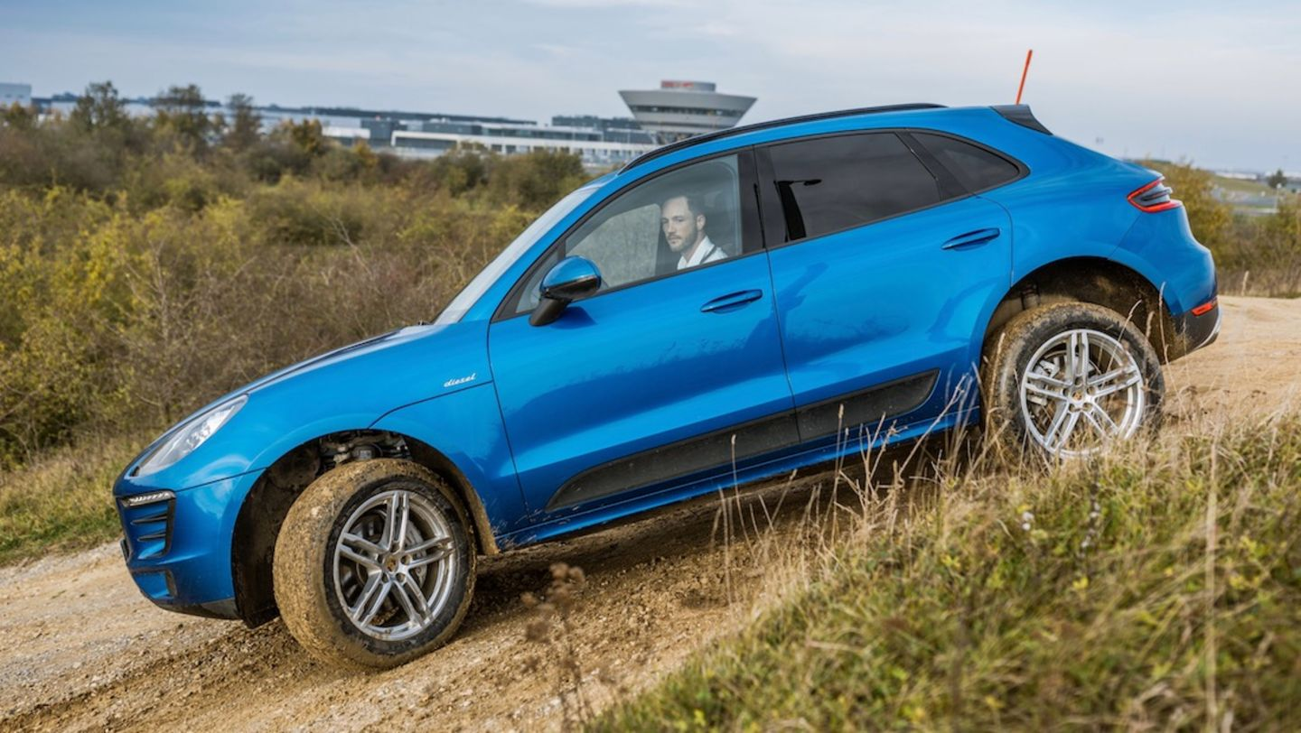 Macan S, Magic Fox, test drive, 2017, Porsche AG