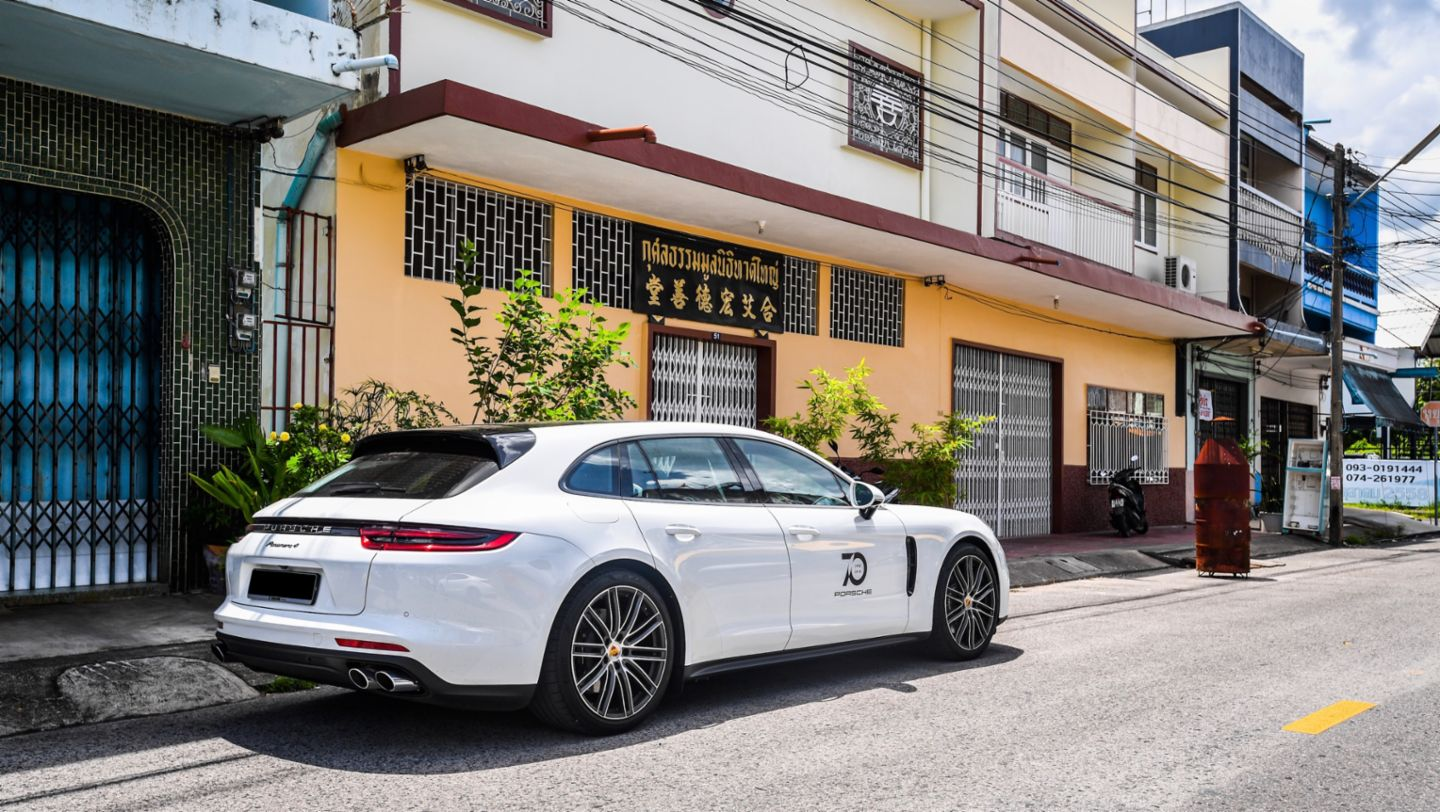 Panamera 4 Sport Turismo, Road to Sportscar Together Day, Penang nach Chumphon, 2018, Porsche AG