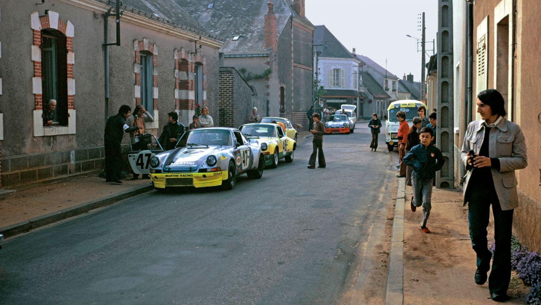 911 Carrera RSRs, Le Mans, 1973, Porsche AG