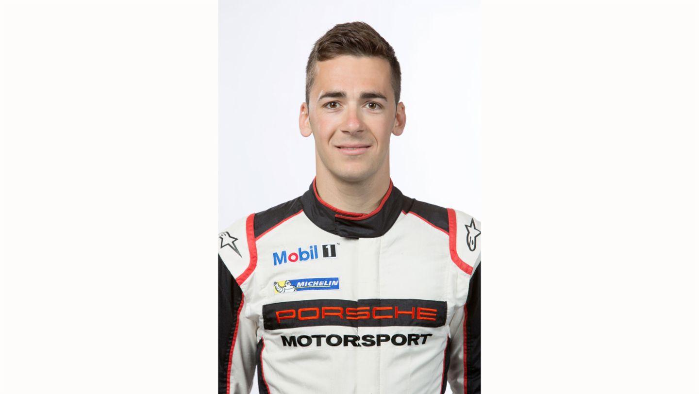 Sven Müller, works driver, 2017, Porsche AG