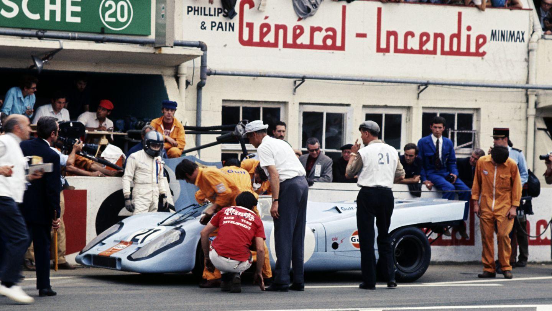 Porsche 917 KH Coupé, Le Mans 24-Hours, 1970, Porsche AG