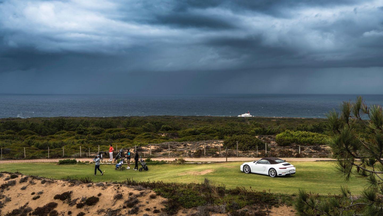 911 Carrera 4 Cabriolet, Porsche Golf Cup Deutschlandfinale, Oitavos Dunes, 2017, Porsche AG