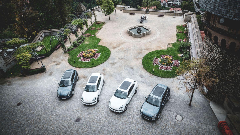 Cayenne S, #PorscheCrossdrive, Castle Wernigerode, 2018, Porsche AG
