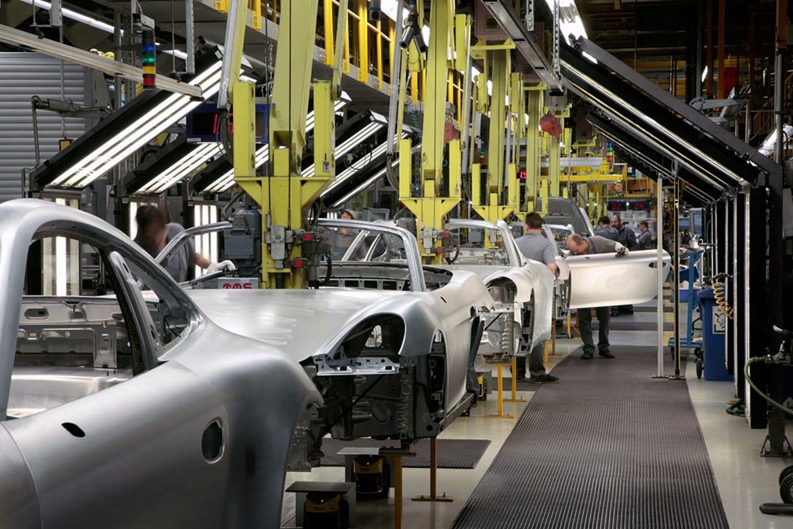 Porsche Sichert Produktion In Zuffenhausen