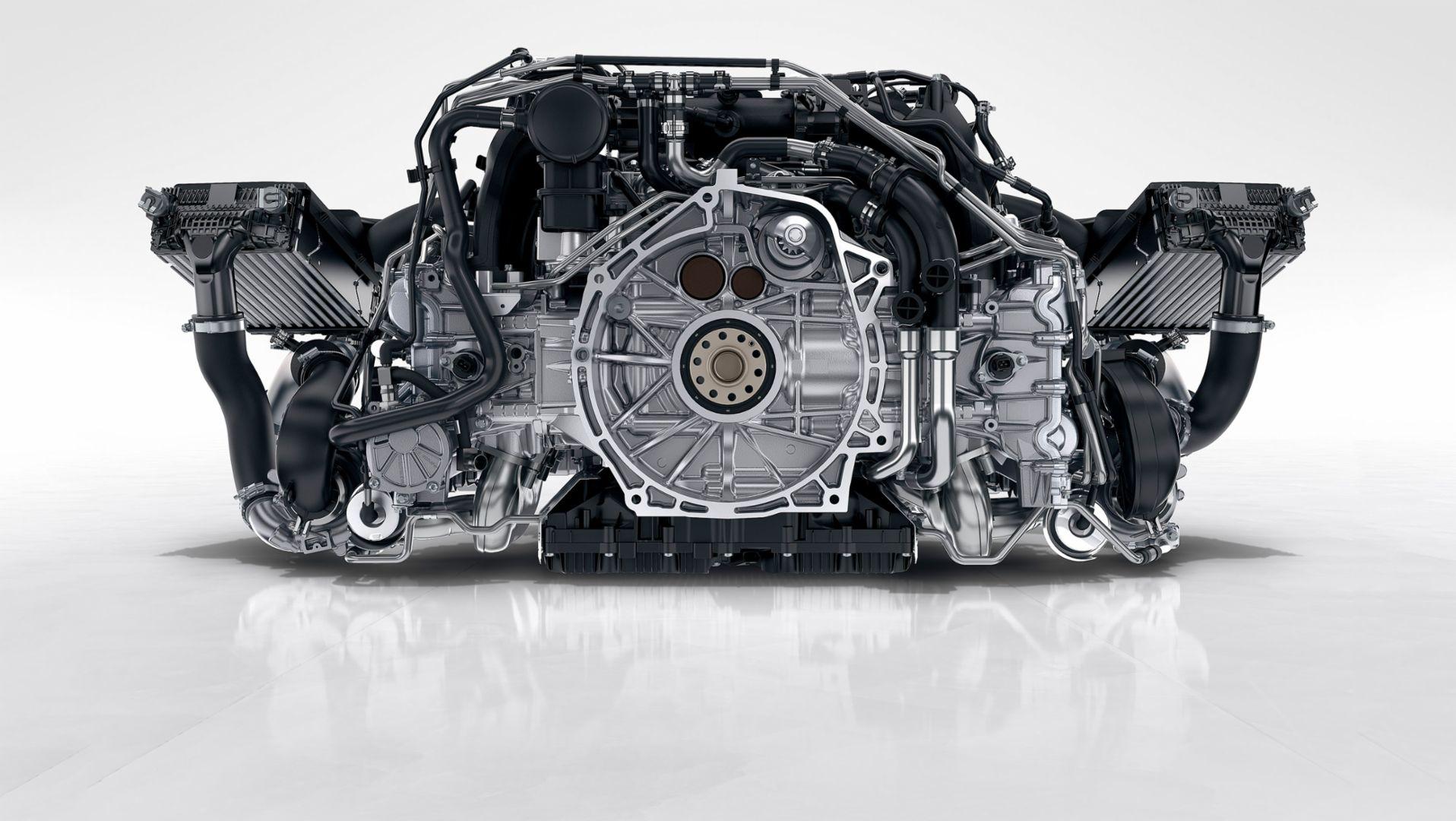 Porsche 911 carrera engine