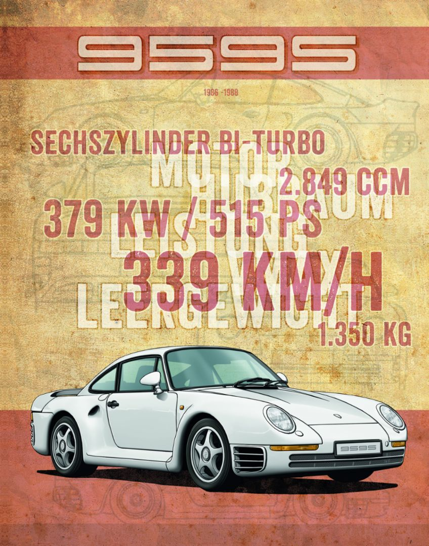 959S, 1986-88, Porsche AG