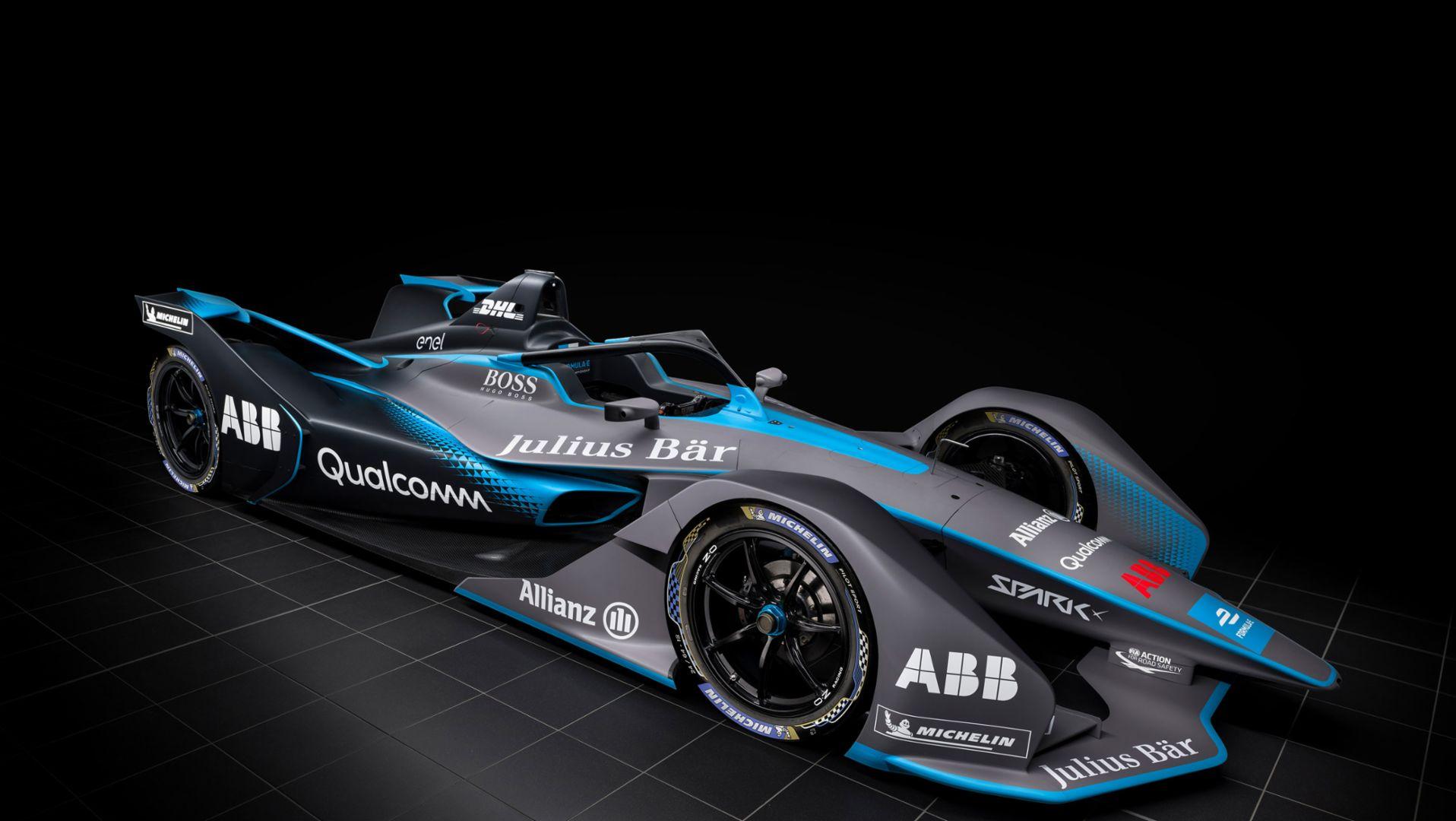 Racing car, 2018, Porsche AG
